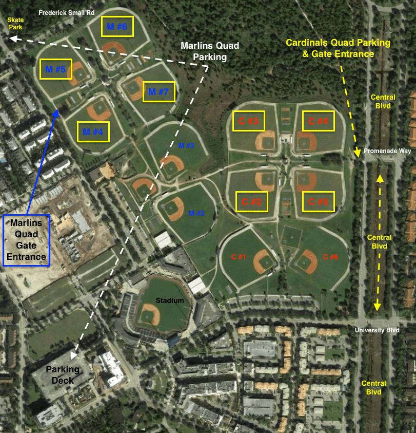 2015 Roger Dean Complex Map