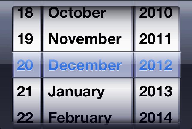 Input type date iOS