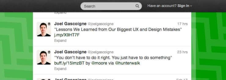 Joel Gascoigne tweets