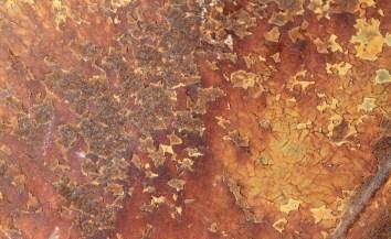warm patina metal_surface design