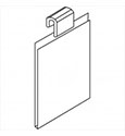 gridwall acrylic shelves menu pop up