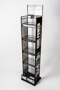 tebo store fixtures core power shelf