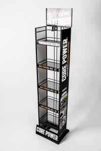 tebo store fixtures core power shelf