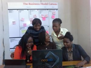 Girls at Neolab
