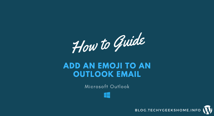 How to add an Emoji to an Outlook Email