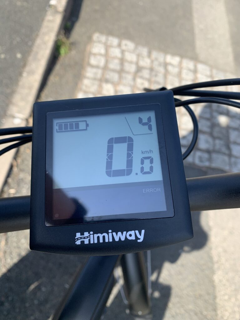 Himiway City Pedelec e-Bike Review 8