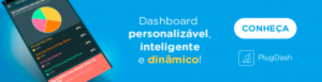 PlugDash: dashboard personalizável, inteligente e dinâmico.