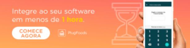 Conheça a comanda eletrônica, clique para conhecer o PlugFoods.