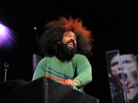…and that's why I came to this conference: Reggie Watts at TED2012