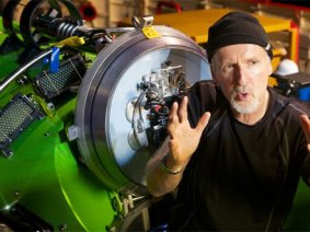 7 miles down: James Cameron's sub set to explore the Mariana Trench