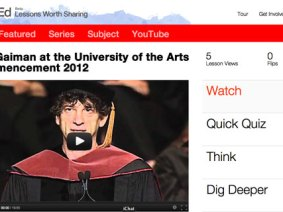 Commencement 2012, flipped: Lessons from great grad addresses