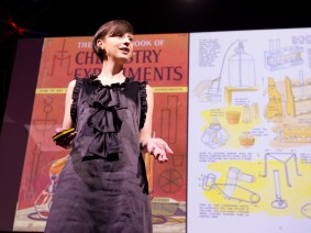 'To be equipped for the future, you need to know smart materials': Catarina Mota at TEDGlobal 2012