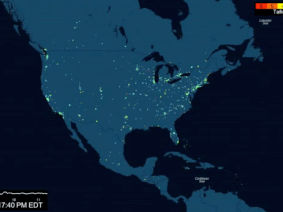Who else is watching TEDTalks? A visual map