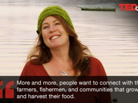 "Gone ""whole"" fishin': A Q&A with TED ebook author Maria Finn, champion of holistic food"
