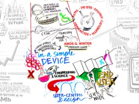 What does a TED Talk look like drawn with markers? 6 examples from Collective Next