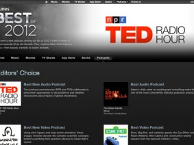 TED Radio Hour named the Best New Audio Podcast of 2012