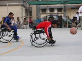 They feel like they can fly: The first wheelchair basketball tournament in Afghanistan, seeded in a TED wish