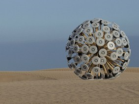A wind-powered toy to clear land mines? A fascinating TEDx talk