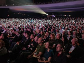 You're a beautiful crowd! 7 moments of audience participation from TED