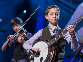 Bluegrass from, er, New Jersey: Sleepy Man Banjo Boys at TED2013