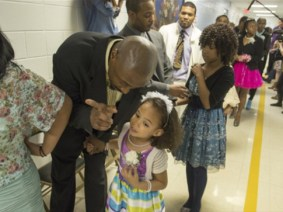 Angela Patton holds second father-daughter dance in prison, sets sights on a documentary