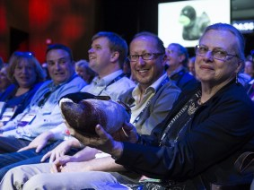 How a dead duck changed the TED audience's life