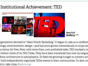 TED wins a National Design Award