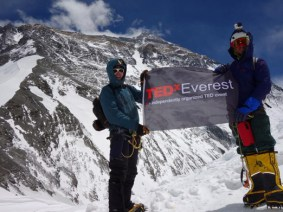 X marks the spot: TEDx on Mount Everest, for the second time