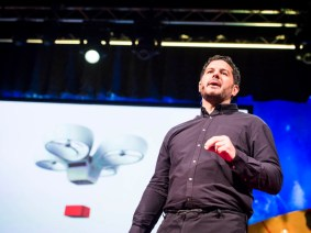 Speedy delivery: Andreas Raptopoulos at TEDGlobal 2013