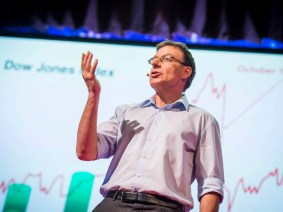 """Crises are predictable"": Didier Sornette at TEDGlobal 2013"