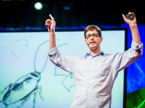 Introducing the RoboRoach: Greg Gage at TEDGlobal 2013