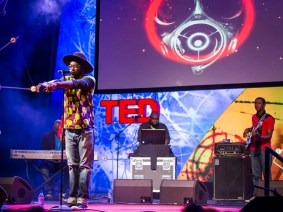 The makers of Africa's first viral video: Just a Band at TEDGlobal 2013