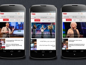 Now on Android: Get the TED app, localized in 20 languages