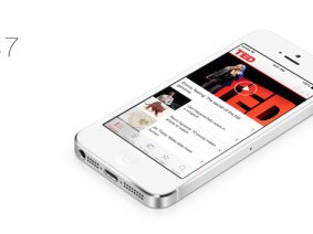 TED rolls out iOS7 app