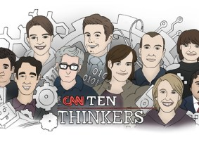 CNN names its top 10 thinkers of 2013, and 7 of them have given TED Talks