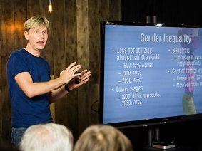 Me: Help me, Bjorn Lomborg, I didn't understand your new TED Talk. Bjorn: Sure, AMA