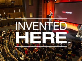 "The inventors, trailblazers and performers of TEDWomen 2013, ""Invented Here"""