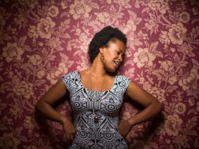Celebrating the cultural in-between: Fellows Friday with musician Meklit Hadero