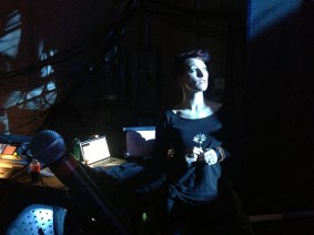 What went through Amanda Palmer's head minutes before stepping on the TED stage