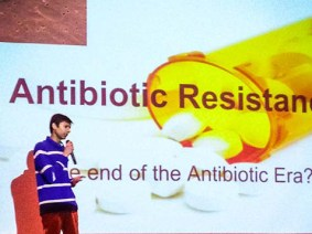 Antibiotic resistance and particle physics: Burlington High School's TED-Ed Club blinds us with science