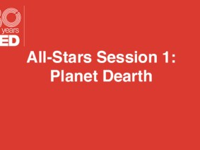 "Progress for ""the blue heart of the planet"" and a plan to de-extinct a kayak: A recap of ""Planet Dearth,"" All-Stars Session 1 at TED2014"
