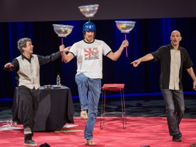 The world's best jugglers … at TED: Raspyni Brothers at TED2014