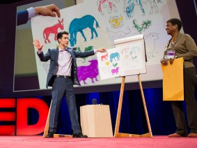 A master of the world's two nerdiest occupations: David Kwong at TED2014