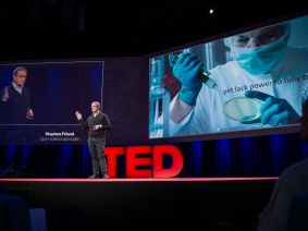 Want to prevent genetic disease? Study the healthy … right now: Stephen Friend at TED2014