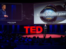 Deep and faint in the night sky: Andrew Connolly at TED2014