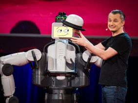 Meet EDI the Robot: Marco Tempest at TED2014