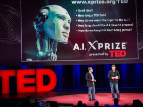 A TED Talk from artificial intelligence? There's an XPRIZE for that