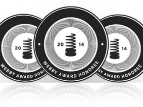 Webby winners announced, and we are thrilled