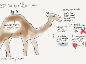 Gallery: Watercolor sketchnotes from TEDSalon Berlin