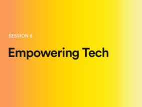 Empowering tech: A sneak peek of session 6 at TEDGlobal 2014